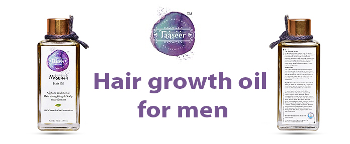 Hair growth oil for men